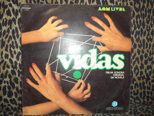 lp/disco - trilha nacional novela duas vidas  1977