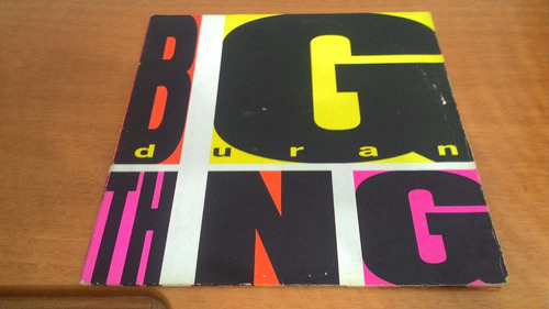 lp,duran duran big thing,1988,capa dupla