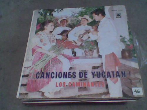 l.p.grande 331/3rpm canciones de yucatan