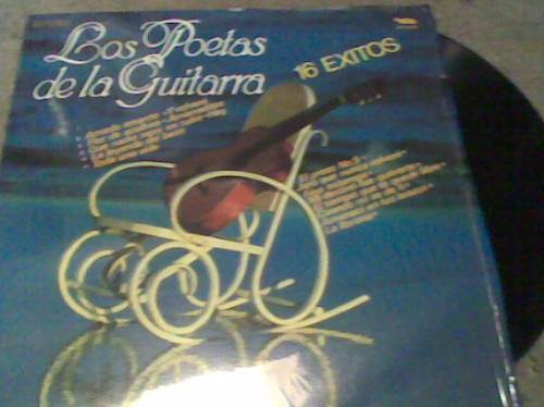 l.p.grande acetato 331/3 los poetas de la guitarra