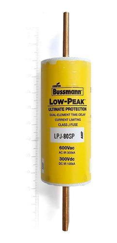 lpj-80sp bussmann fusible 80a 600v