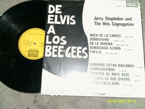 l.p.jerry stapledon & hits cogregation