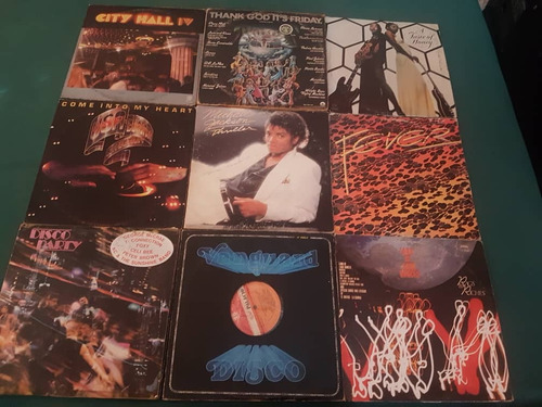 lp's de musica disco de los años 70 y 80