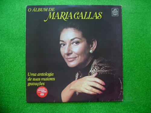 lps dupl. maria callas p/1987- álbum