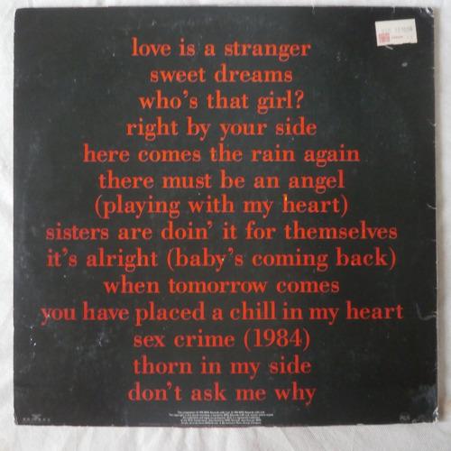 lps eurythmics 1991 greatest hits e erasure the innocent