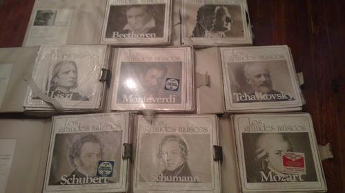 lps     los grandes musicos / 60 discos