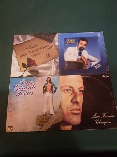 lp's o vinilos de musica romantica y poemas.