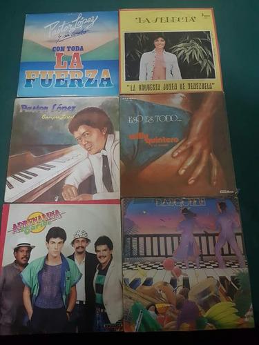 lp's o vinilos de musica tropical de los 90'.