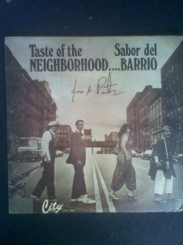 lp.taste of the neighborhood...sabor del barrio.1981.vinilo.
