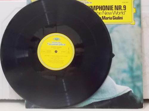 lp/vinil antonin dvorak - symphonie nº 9 carlo maria giulini