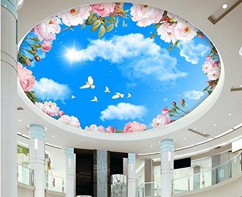 Lqwx murales de techo papel pintado personalizado 3d phot for Papel pintado personalizado