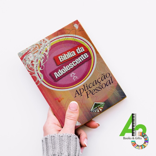 lr18 bíblia da adolescente aplicação pessoal capa dura