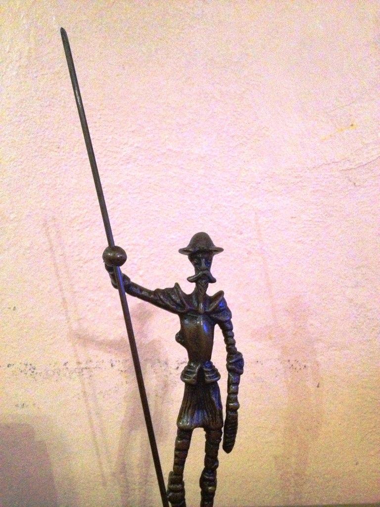 Lrc Don Quijote De La Mancha, Único!!! Hecho De Bronce ...