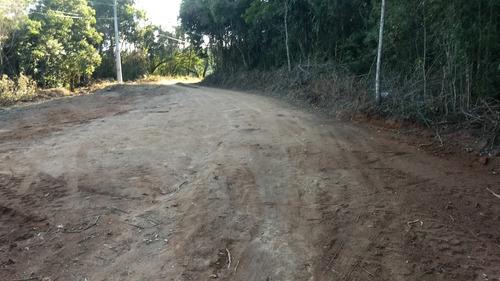 l.s  1000 m2 terrenos plainos em ibiuna ent. +48 x parcelas