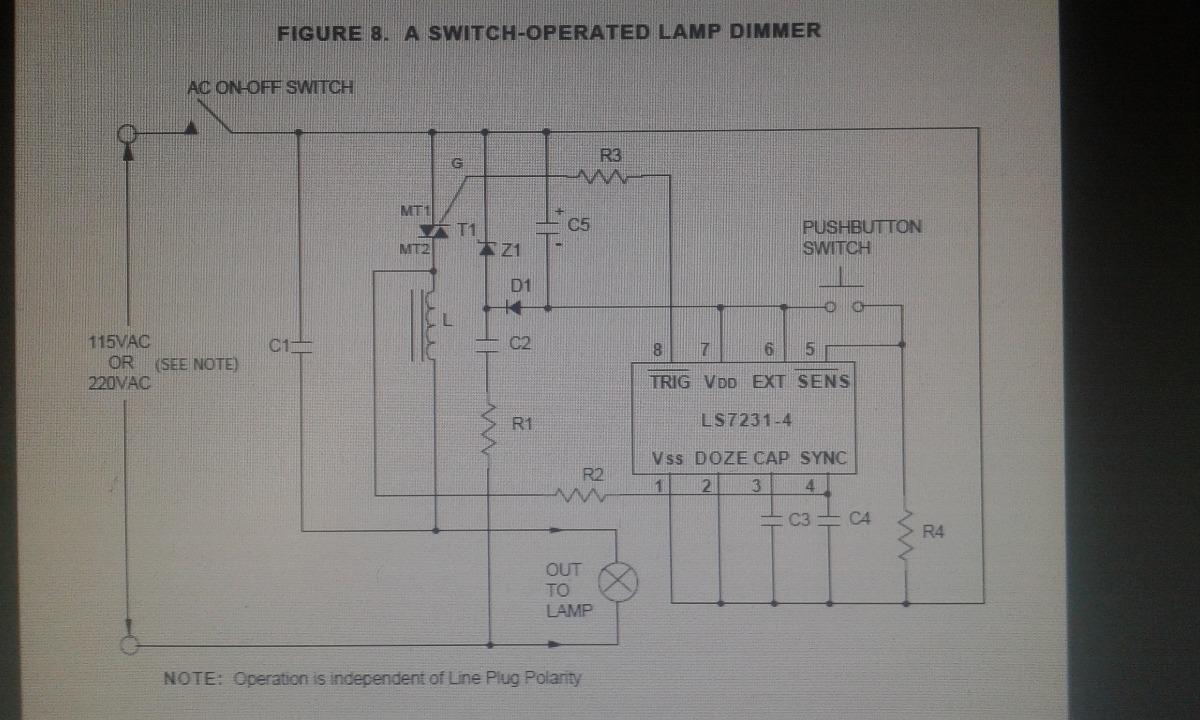Ls7232 Touch Control Para Armar Dimmer 220v 16000 En Mercado Libre Ac Lamp Cargando Zoom