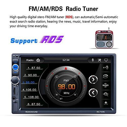 lslya (tm) 7 pulgadas hd car stereo bluetooth reproductor m