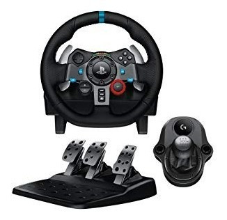 ltc combo volante logitech g29 ps3 ps4/ pc pedales + palanca