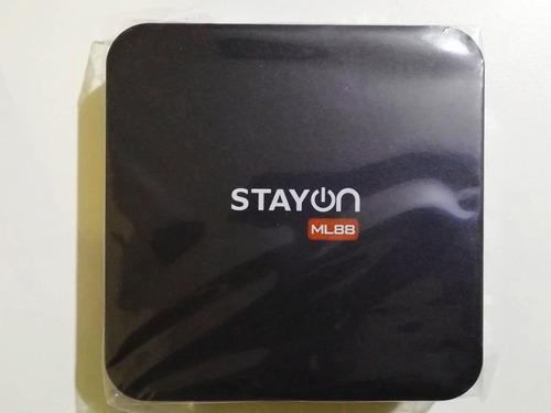 ltc m-logic tv box ml88 2gb 16gb android convierte smart tv