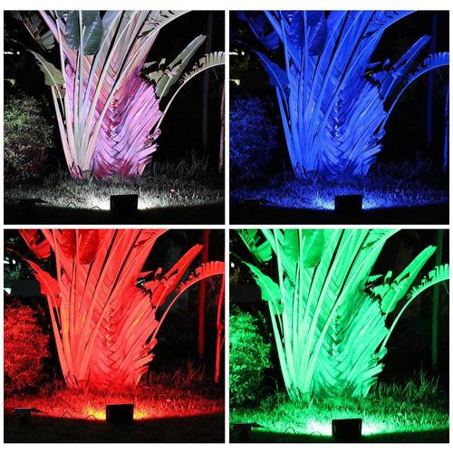 lte iluminación inclusive 10w rgb led flood luz , 16 color