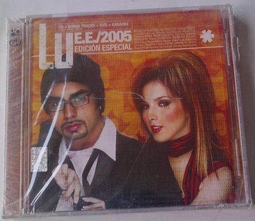 lu  e.e. 2005 edicion especial cd y dvd de fabrica
