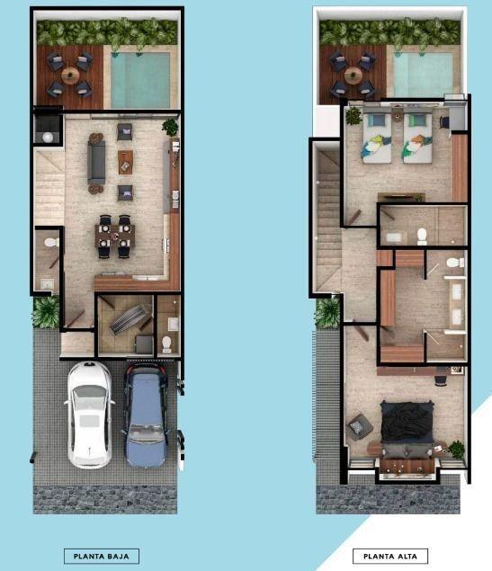 luana villa modelo b (preventa 2020) 75% vendido