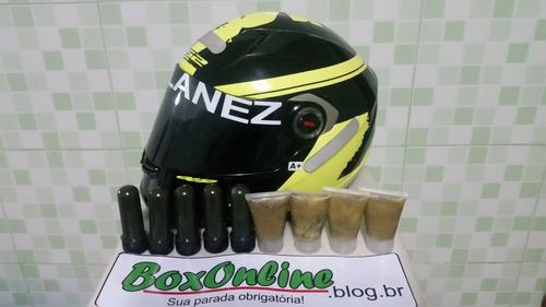 lubox (2 unids)- lubrificante especial para karts e motos