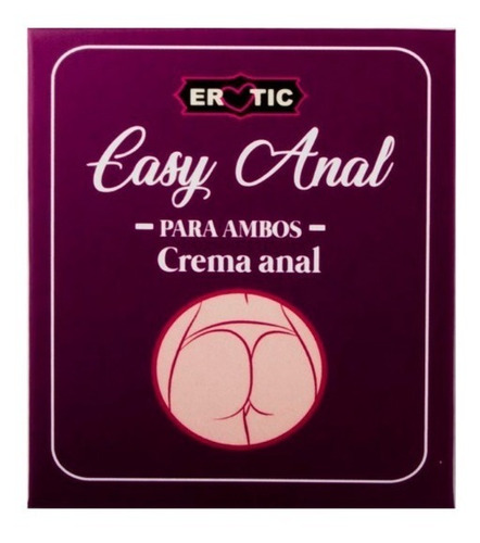 lubricante anal erotic cojin en crema