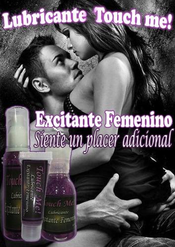 lubricante excitante femenino touch me 60ml