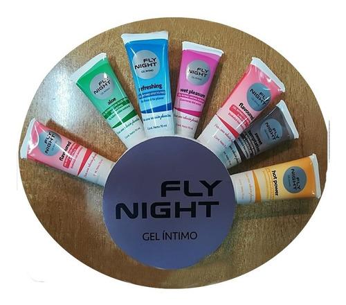 lubricante íntimo fly night efecto frío retardante
