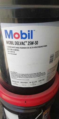 lubricante mobil para motor a  diesel