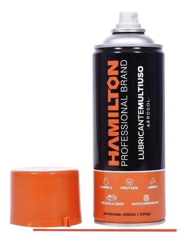 lubricante multiuso aerosol limpia protege hamilton 450ml