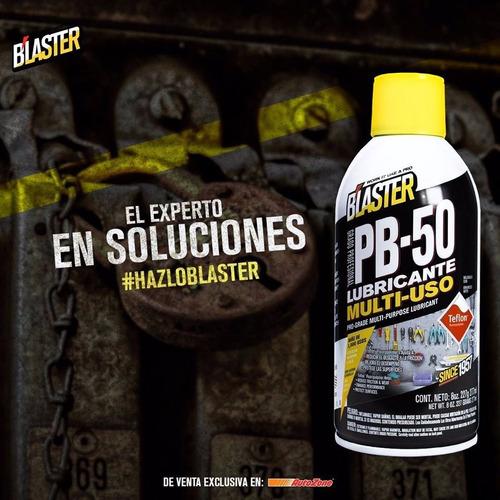 lubricante multiuso  pb-50 con teflon b´laster 8 oz.