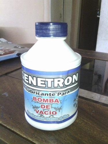 lubricante para bomba de vacio genetron