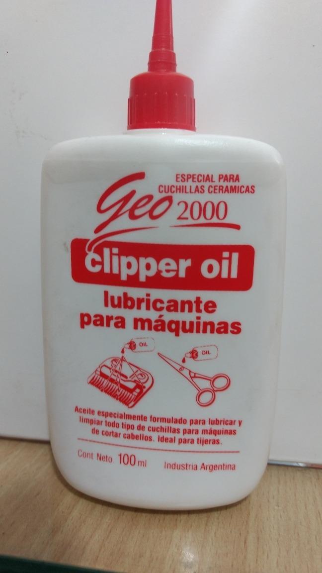 Aceite para maquina de corte de pelo