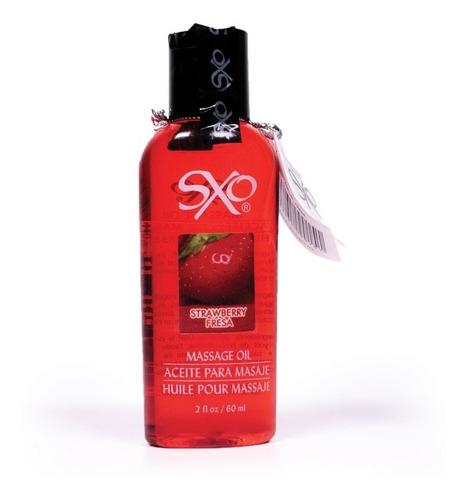 lubricante para masaje de fresa comestible  sxo todo cuerpo