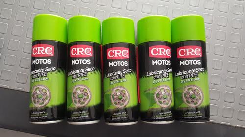 lubricante seco multiusos para cadenas de motos de trocha