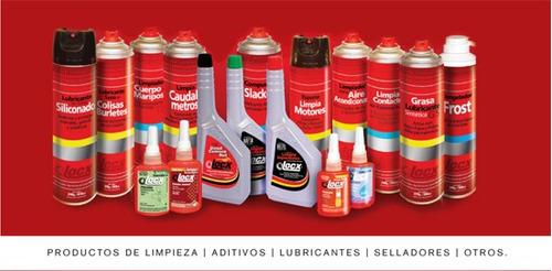lubricante seco para colisas burletes gomas locx 260ml
