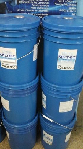 lubricante sintetico para compresores de tornillo