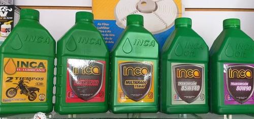 lubricantes inca y todo para el mantenimiento de tu vehiculo