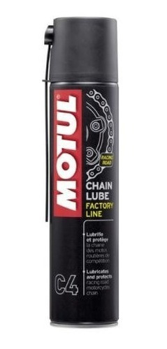 lubrificante corrente motul c4 factory line alta performance