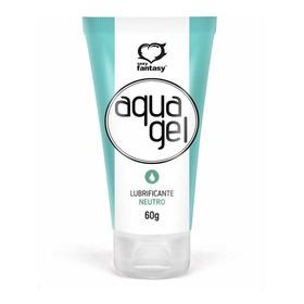 Lubrificante Intimo Gel Aqua Gel 60g Neutro A Base De Água