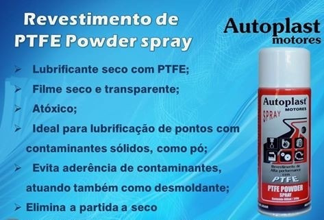 lubrificante powder spray ptfe autoplast - barcos lanchas