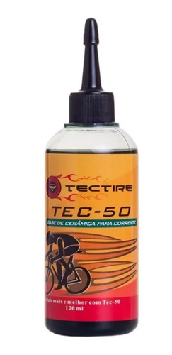 lubrificante tec 50 ceramic 120ml tectire bike bicicleta mtb