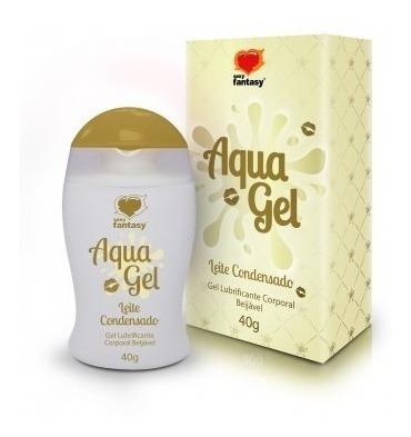 lubrificantes sexual aquagel beijável leite condensado 40g