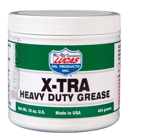 lucas oil grasa rodamamientos impermeable x-tra heavy duty