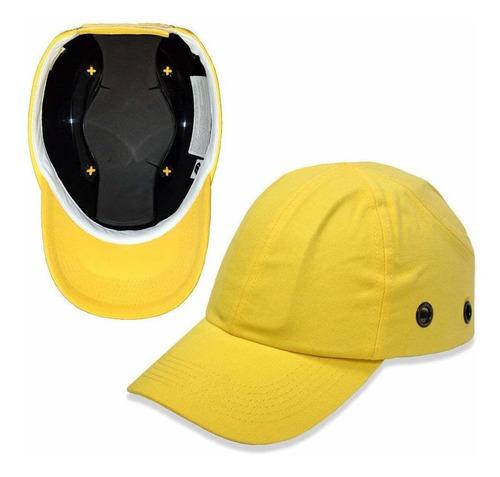 lucent camino amarillo cap bump béisbol - ja ligera segurid