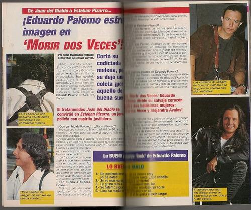 lucero eduardo palomo en revista teleguía de 1995