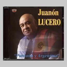 lucero juanon puntano y argentino cd nuevo