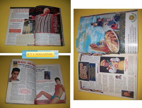 lucero revista tele guia 1995 chabela vargas raul araiza