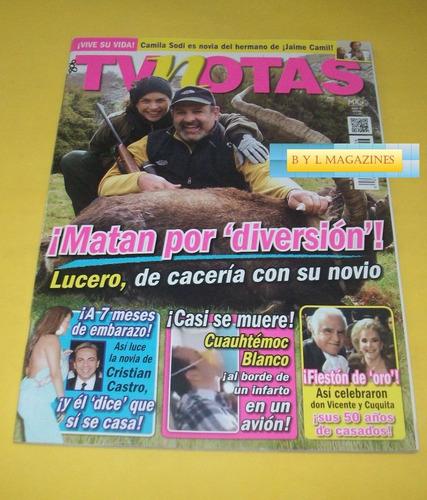 lucero revista tv notas 2013 danna paola